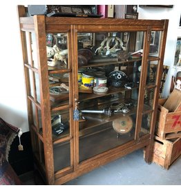 Single door display cabinet