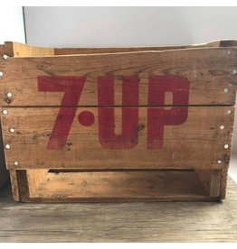 7-Up crate