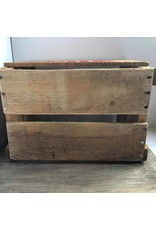 Vintage wooden 7-Up crate
