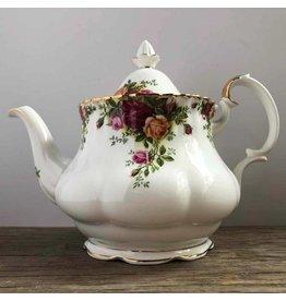 "Royal Albert ""Old Country Roses"" Teapot"