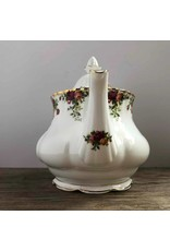 "Teapot - Royal Albert ""Old Country Roses"" with lid"