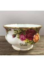 Cream & sugar on tray - Royal Albert Old Country Roses