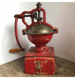 Antique Freres Brevetes coffee grinder