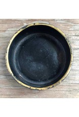 Coffee mill - Spong, black and gold, all original, with dish