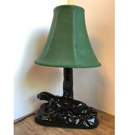 Mid-century panther lamp