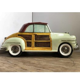 Woody station wagon cookie jar
