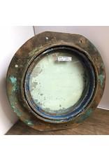 Porthole - brass, opens, aluminum cover