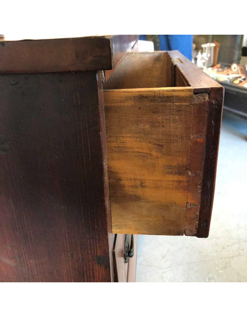 Mahogany chest - four drawers