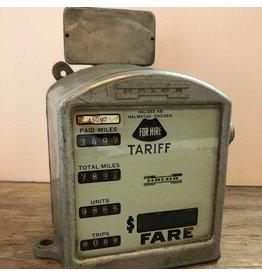Taxi cab meter