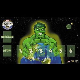 Upper Deck Marvel Super Hero Squad Playmat - Hulk