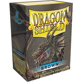 Fantasy Flight Dragon Shields: (100) Brown