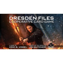 Evil Hat Productions The Dresden Files Cooperative Card Game