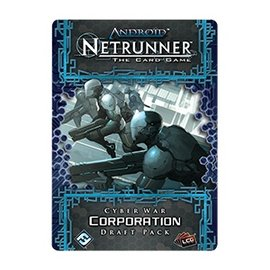Fantasy Flight Android Netrunner LCG: Cyber War Corporation Draft Pack
