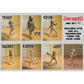 Ameritrash Games Camp Grizzly Minis Set #1