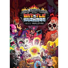Cryptozoic Epic Spell Wars of the Battle Wizards: Duel at Mt. Skullzfyre