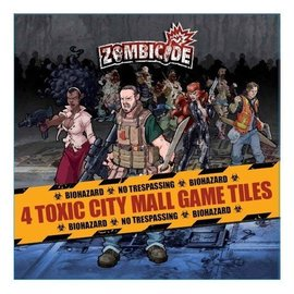 Cool Mini or Not Zombicide 4 Toxic City Mall Tile Pack