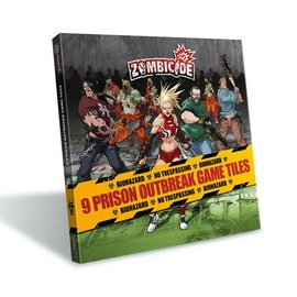 Cool Mini or Not Zombicide 9 Prison Outbreak Tile Pack