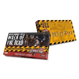 Cool Mini or Not Zombicide Box of Zombies Set #1: Walk of the Dead