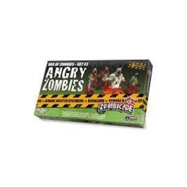 Cool Mini or Not Zombicide Box of Zombies Set #3: Angry Zombies