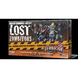 Cool Mini or Not Zombicide Box of Zombies Set #7: Lost Zombivors