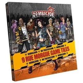 Cool Mini or Not Zombicide: Rue Morgue Tile Pack