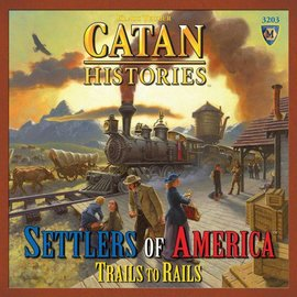 Mayfair Games Catan Histories: Settlers of America Trails to Rails