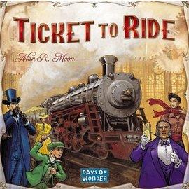 Days of Wonder Ticket to Ride (ANA Top 40)