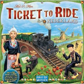Days of Wonder Ticket to Ride Map Collection: Volume 4 - Nederland