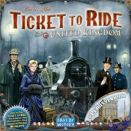 Days of Wonder Ticket to Ride Map Collection: Volume 5 - United Kingdom & Pennsylvania