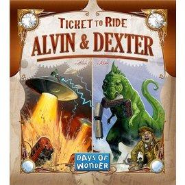 Days of Wonder Ticket to Ride: Alvin & Dexter