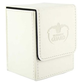 Ultimate Guard Ultimate Guard - Flip Deck Case 100+ Leather - White