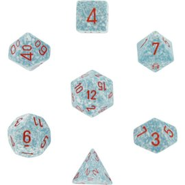 Chessex 7 Set Polyhedral Dice - Speckled - Air - CHX25300