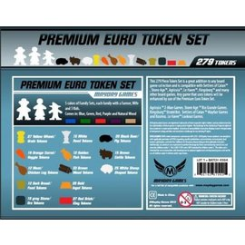 Mayday Games Premium Euro Token Boxed Set (279 pc)