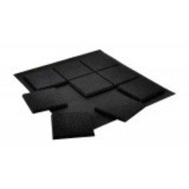 GaleForce Nine Magnetic Bases 25mm Square (25)