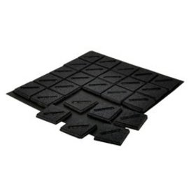 GaleForce Nine Magnetic Bases 25mm Square Slotted