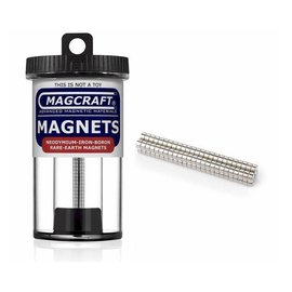 Magcraft Magcraft Rare Earth Magnets - 100 .125 x .0625