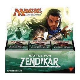 Wizards of the Coast Battle for Zendikar Booster Box - Japanese