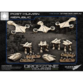 Hawk Wargames Dropzone Commander - PHR Premium Starter Army with Case