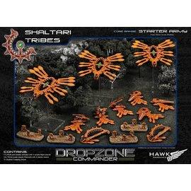 Hawk Wargames Dropzone Commander - Shaltari Tribes Premium Starter Army with Case