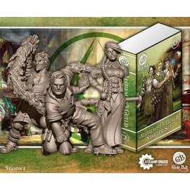 Steamforged Games Alchemist Starter Set (Midas, Calculus, Mercury)