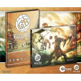 Steamforged Games Guild Ball A4 Rulebook (with Sleeve)