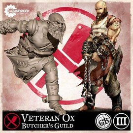 Steamforged Games Guild Ball Veteran Ox