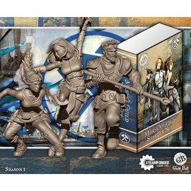 Steamforged Games Mason Starter Set (Honour, Harmony, Mallet)