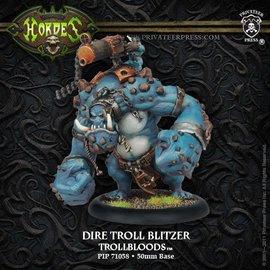 Privateer Press Hordes - Dire Troll Blitzer/Bomber/Mauler