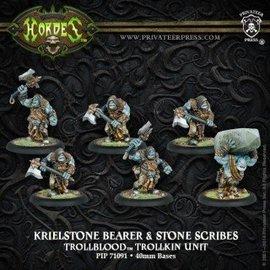 Privateer Press Hordes - Trollbloods - Krielstone Bearer & Stone Scribes