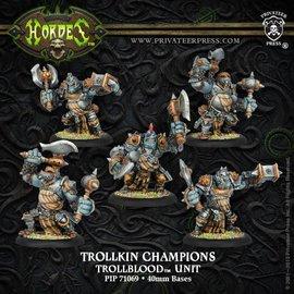 Privateer Press Hordes - Trollbloods - Trollkin Champions