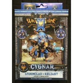 Privateer Press Warmachine - Cygnar - Reliant/Stormclad Heavy Warjack Kit