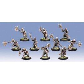 Privateer Press Warmachine - Mercenaries - Steelhead Halberdiers/Riflemen (Plastic)