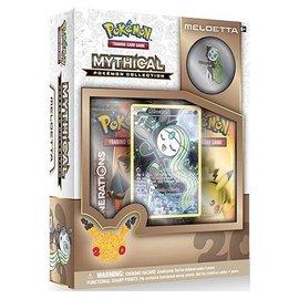 Pokemon International Mythical Pokemon Collection: Meloetta