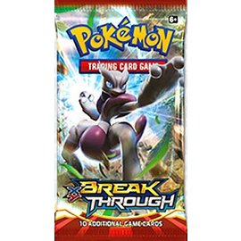 Pokemon International Pokemon XY BREAKThrough Booster Pack